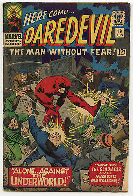 JERRY WEIST ESTATE: DAREDEVIL #19 (Marvel 1966) VG- NO RES