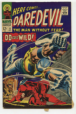 JERRY WEIST ESTATE: DAREDEVIL #23 (Marvel 1966) VG+ condition NO RES