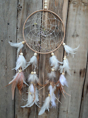 Native American Style Dream Catcher Hand Made In Arizona With Energized Gems