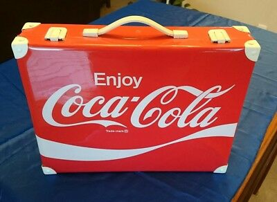 Coca-Cola very rare 1970's Executive Soft Sided Briefcase! Excellent condition!