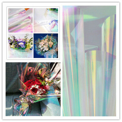 50cm*10M Waterproof Laser Paper Flower Bouquet Packaging Paper Gift Wrapping