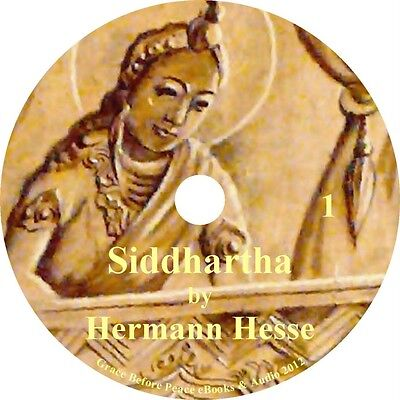 Siddhartha by Hermann Hesse a Classic Audiobook on Philosophy on 5 Audio CDs