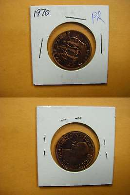 8804 GB 1970 1/2 Penny Proof