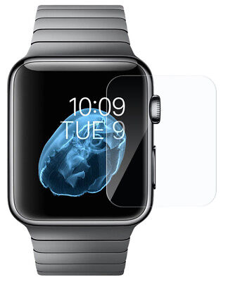 TEMPERED GLASS SCREEN PROTECTOR CRACK SAVER FOR APPLE WATCH (SERIES 1/2/3, 42mm)
