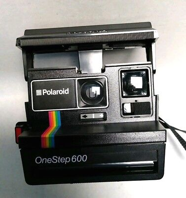 Polaroid 600 Land Camera One Step 600 with Strap