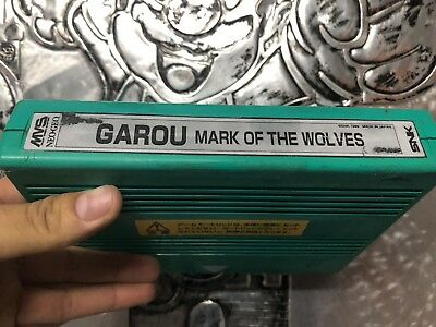 Garou Mark Of The Wolves - Authentic SNK Neo Geo MVS Cart PCB 100 Tested