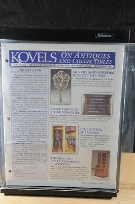Lot of 12 Kovels On Antiques & Collectibles Magazines Sept 2006 - August 2007