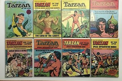TARZAN OF THE APES 1973 BUMPER EDITION -SPECIAL SUPER ADVENTURE Number 2 - 8