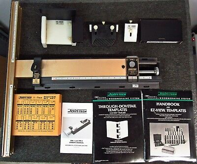 JoinTech IPM-2 Incremental Positioning Machine + Accessories *NICE Condition!*