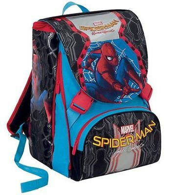 Zaino estensibile Spiderman Homecoming + Astuccio 3Zip + maschera