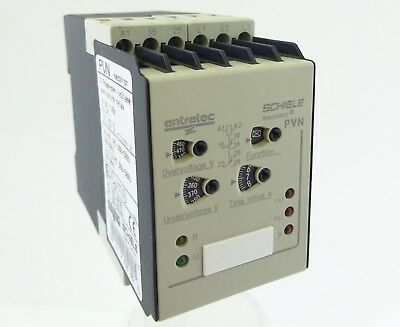 SCHIELE PVN Phasen Überwachungsrelais Phase Voltage Monitoring Relay 300-500V AC