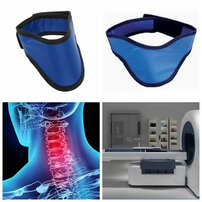 X Ray 0.5mm Pb Lead Protective Collar Thyroid Radiation Shield Neck Cover Blue