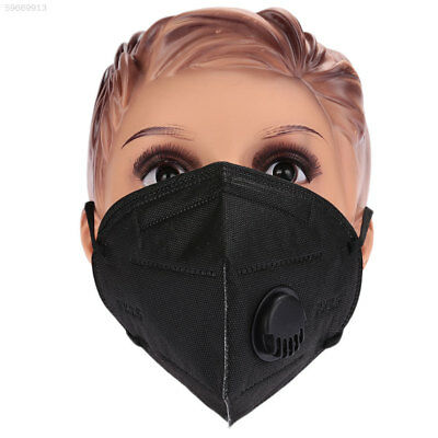7E88 271A Black Bicycle Bike Anti-Dust Mask Comfortable Face Cycling Gas Filter