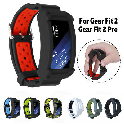 Replacement Wrist Watch Band Silicone Strap Bracelet For Samsung Gear Fit 2 /Pro