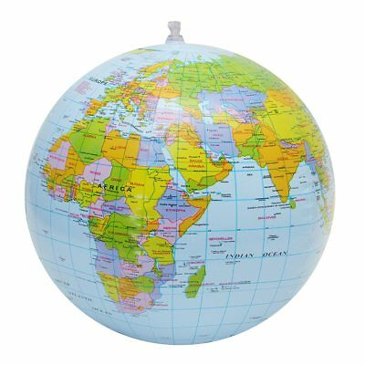 Beach Ball Geography 12 Inch Educational 30cm World Map Globe Inflatable Toys