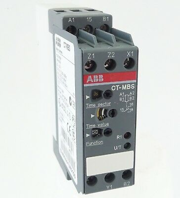 ABB CT-MBS Zeitrelais Multifunktionsrelais Time Relay 0,05s...300h 1C/O UNUSED