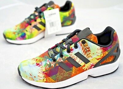 f245759d7 adidas ZX Flux K Womens Girls Trainers Shoes Size UK 6.5 Multi B24376 (AD6.