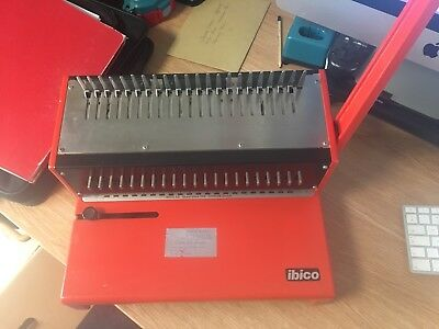 IBIMATIC Ibico AG346 CH8038 Binding Machine with binding combs and covers