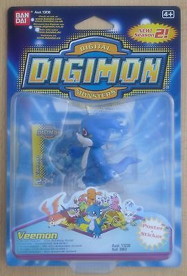 Ban Dai 13230 Ref 3963 - Digimon Digital Monsters 2 Figur Veemon (Neu & OVP)