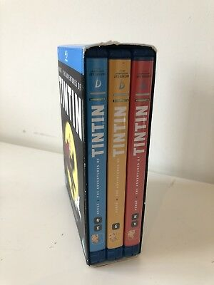 Adventures Of Tintin; Bluray Collection ; Box set