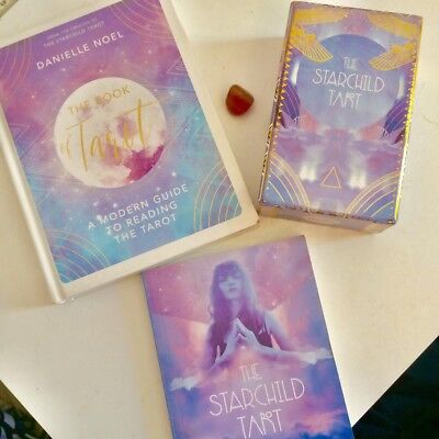 THE STARCHILD TAROT 79 Card Deck (Akashic) by Danielle Noel (Used)