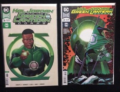 Hal Jordan and the Green Lantern Corps Lot (14)! Issues 26-31, 33, 35-40, 42.
