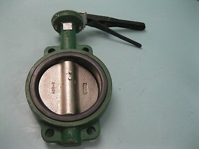 """6"""" Stockham Wafer-Style DI Butterfly Valve DI Disc LD512-DS3-B NEW H3 (2351)"""