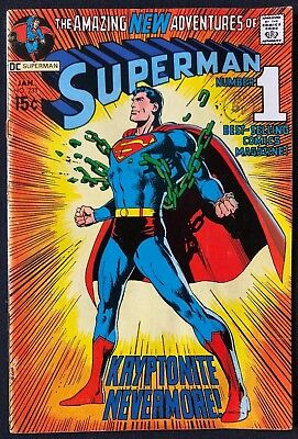Superman #233 Really Nice Condition Classic Adams Cover