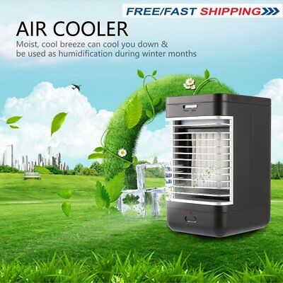 Mini Air Conditioner Portable Fan Personal Desk Air Cooler/Humidifier/Cleaner A5