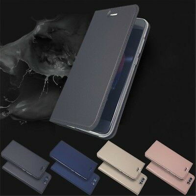 For Huawei Honor 8 9 10 Lite Leather Flip Wallet Magnetic Case Cover Skin A