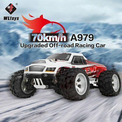 WLtoys A979-B 2.4GHz 1/18 Scale 4WD RC Car 70KM/h Electric RTR Off-road TruckYO