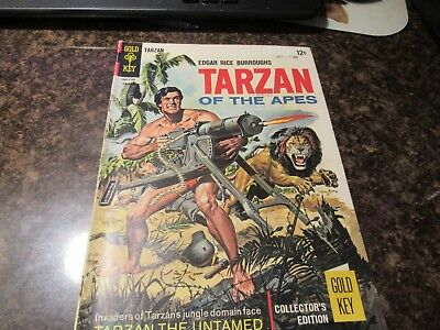 TARZAN OF THE APES #163  (1967 Silver Age Gold Key comic)