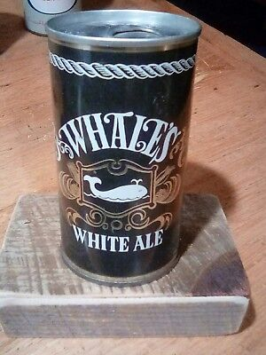 Whale's White Ale beer can 134-20