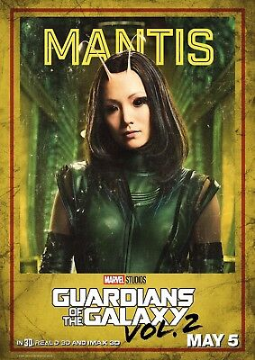 Guardians of the Galaxy 2 - A4 Glossy Poster - Film Movie Free Shipping #818