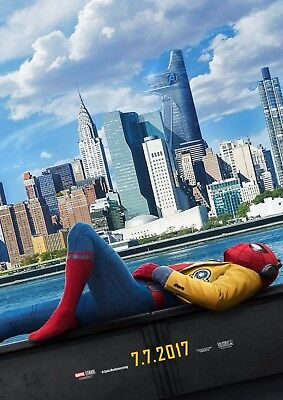 Spiderman Home Coming - A4 Glossy Poster - Film Movie Free Shipping #827