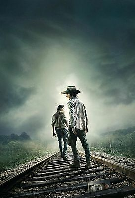 Walking Dead - A4 Glossy Poster - Film Movie Free Shipping #105