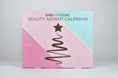 BareFacedChic 💄 Beauty Advent Calendar Make Up 🎄 Xmas Gift 🎁