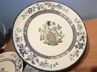 "Copeland Spode ""Chinese Rose"" Hand Finished 26.5cm Dinner Plate. Excellent Cond."