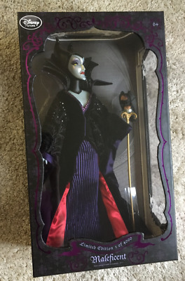 Maleficent Limited Edition Doll (DISNEY, SLEEPING BEAUTY 1 OF 4000)