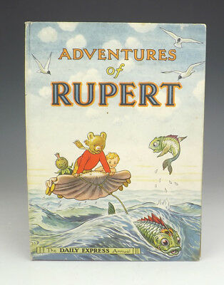 Vintage 1950 Adventures Of Rupert - Rupert Annual - Good Condition - Unusual!