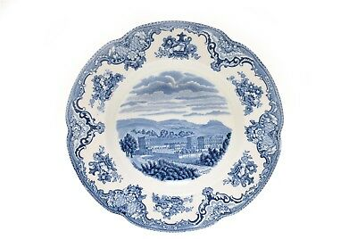 """Old Britain Castles Blue Johnson Brothers 6 3/8"""" Bread Plate"""