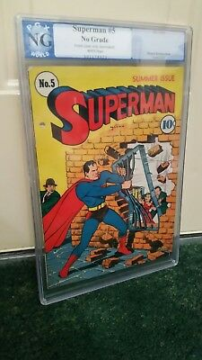 SUPERMAN #5 cover only PGX CVR NG  4th Lex Luthor