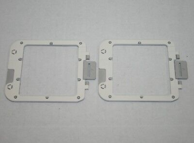 (2) Brother Applique Station E-100 Replacement Design Frames
