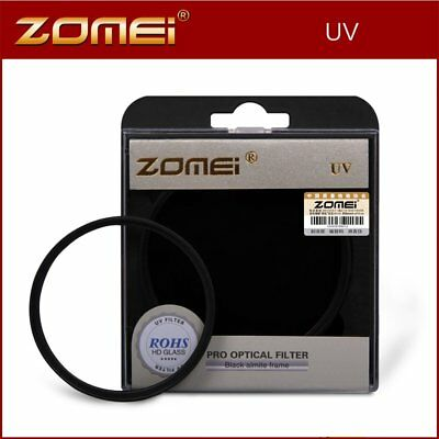 58/67/72/77/82mm ZOMEI UV Filter Protect Lens Filter For Canon Nikon