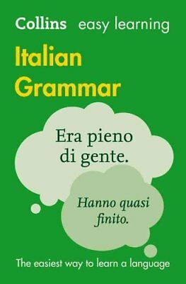 Easy Learning Italian Grammar by Collins Dictionaries 9780008142025