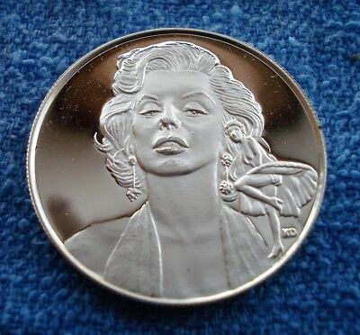 Marilyn Monroe 1926-1962 Limited Edition Silver Proof Coin - 1 Troy oz. - .999FS
