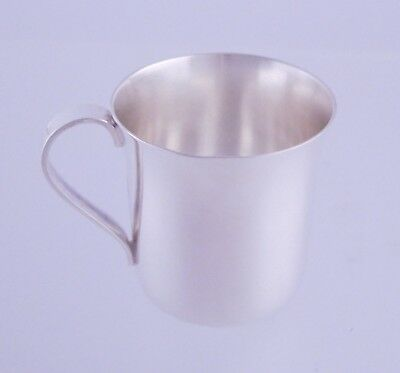 Vintage Tiffany & Co Sterling Silver .925 Baby Cup