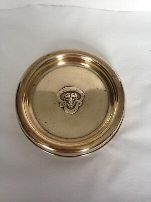 Vintage British Legion Embossed Brass Tray / Plate