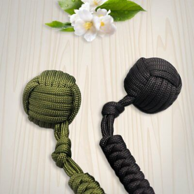 Security protecting Monkey Fist Self Defense Multifunctional Key Chain FO