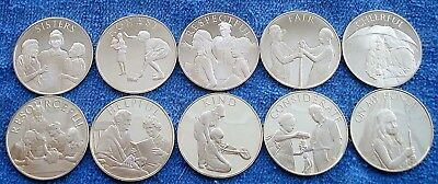 10 Girl Scout Law Commemorative Silver Coins